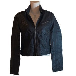 NWT Ambience Faux Leather Jacket -S